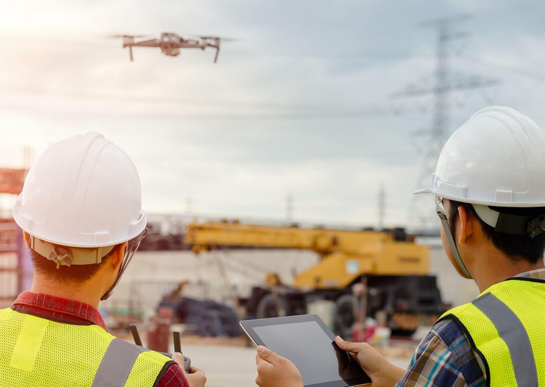 Dron en la minería