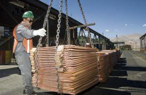Crecimiento de la demanda en China impulsa precio del cobre