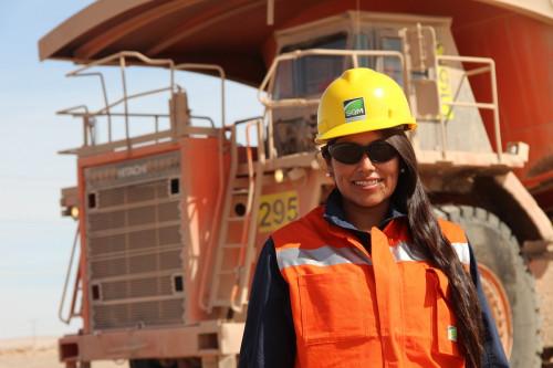 SQM planea alcanzar un 20% de dotación femenina en 2021